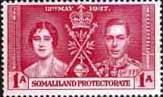 Postage Stamps Somaliland Protectorate 1937 Coronation SG 90 Fine Mint Scott 81