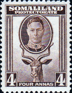 Somaliland Protectorate 1942 King George VI SG 109 Fine Mint