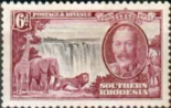 Stamps Southern Rhodesia 1935 Silver Jubilee SG 33 Fine Used Scott 35