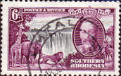 Southern Rhodesia 1935 Silver Jubilee SG 34 Fine Used