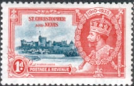 Postage Stamps St Christopher and Nevis 1935 King George V Silver Jubilee Set Fine Used