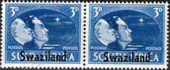 Swaziland 1946 King George VI Victory SG 41 Fine Mint