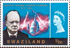 Stamp Stamps of Swaziland 1966 Churchill Set Fine Mint