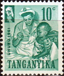 Stamps Tanganyika 1961 Independence SG 109 Fine Used Scott 40