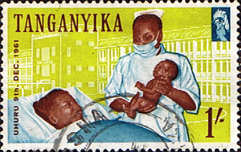 Stamps Tanganyika 1961 Independence SG 114 Fine Used Scott 45
