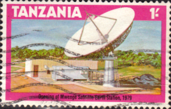 Postage Stamps Tanzania 1979 Mwenge Satellite Earth Station Fine Used SG 277 Scott 134
