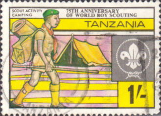 Tanzania 1982 Boy Scout Movement SG 357 Fine Used