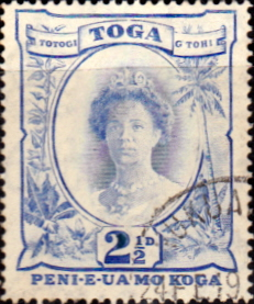Tonga 1942 SG 77 Queen Salote Fine Used