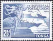 Tonga Stamps 1949 Universal Postal Union Set Fine Mint