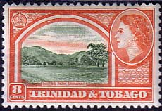 Trinidad and Tobago 1953 SG 273 Queens Park Savannah Fine Mint
