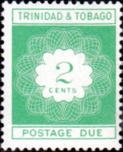 Trinidad and Tobago 1969 Post Due SG D34 Fine Mint
