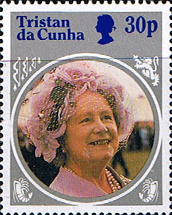 Stamps Tristan Da Cunha 1985 Life and Times of Queen Elizabeth the Queen Mother SG 392 Fine Mint Scott 374