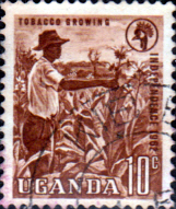 Uganda 1962 Independence SG 100 Fine Used