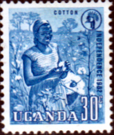 Uganda 1962 Independence SG 103 Fine Mint