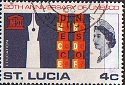 Stamps UNESCO 1966 St Lucia