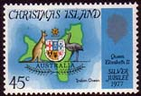 1977 Christmas Islands Royal Silver Jubilee Fine Mint