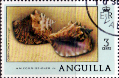 Anguilla 1977 Sea Shell Easter SG 276 The Complete Tapestry Fine Used