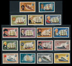 Antigua 1970 Ships and Captains Set Fine Mint