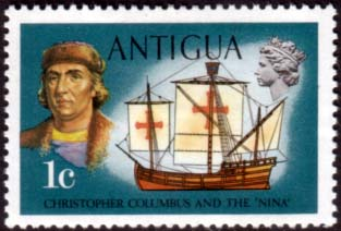 Antigua 1970 Ships and Captains SG 270 Columbus and Nina Fine Mint