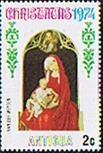 Antigua 1974 Christmas SG 415 Fine Mint
