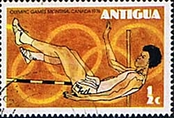 Antigua 1976 Montreal Olympic Games SG 495 Fine Used