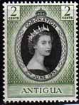 Antigua Queen Elizabeth II 1953 Coronation Fine Mint