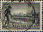 Australia 1934 SG 149 Victoria Centenary Perf 10.5 Good Used