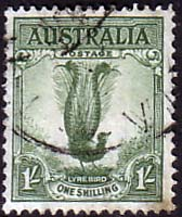 Stamps of Australia 1938 SG 192 Lyerbird Fine Used