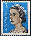 Australia 1966 Coil Stamps SG 405a Fine Used