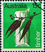 Australia 1969 Primary Industries Timber Fine Used