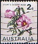 Australia 1970 Flower Coil Stamps SG 465a Fine Used