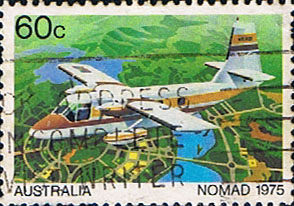 Stamps of Australia 1980 Aircraft SG 764 Fine Used Scott 762