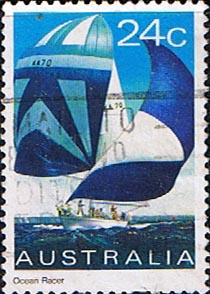 Postage Stamps 1981 Yachts Yachts Ocean Racer SG 833 Scott 816 Fine Used