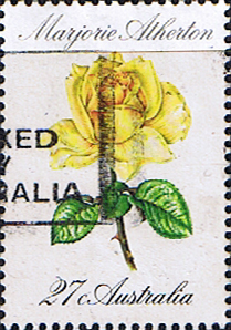Stamps of Australia 1982 Roses Majestic Atherton Fine Used SG 843 Scott 826