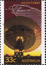 Stamps Australia 1986 Appearance, Halley's Comet Fine Mint