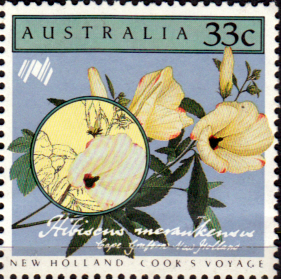 Stamps Australia 1986 Cook's Voyage to New Holland Set Fine Mint