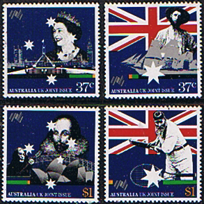 Stamps Australia 1988 Bicentenary of Australian Settlement Set Fine Mint