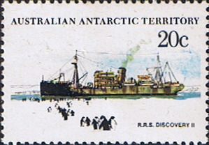 Stamps Australian Antarctic Territory 1979 Ships SG 43 Discovery II Fine Mint Scott L43