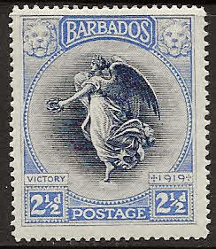 Barbados 1920 Victory SG 205 Fine Mint