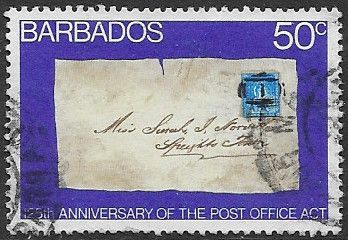 Barbados 1976 Post Office Act SG 567 Fine Used