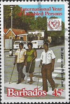 Stamp of Barbados 1979 St. Vincent Relief Fund SG 621