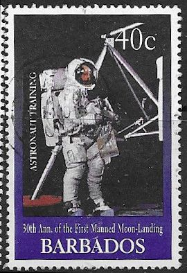 Barbados 1999 30th Anniv of First Manned Landing on Moon SG 1138 Fine Used
