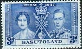 Basutoland 1937 SG  17 King George VI Coronation Fine Mint