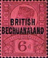 Bechuanaland Protectorate Early Issues 1886 - 1910
