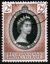 Bechuanaland Stamps 1953 Coronation