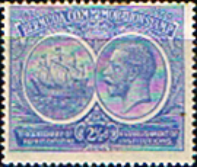 Bermuda 1920 King George V Institutions Tercentenary SG 66 Fine Mint