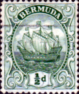 Bermuda 1922 King George V Galleon SG 77 Fine Used