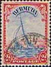 Bermuda 1938 King George VI SG 112a Yacht Lucie Fine Used
