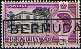 Bermuda 1956 Perots Post Office SG156  Fine Used
