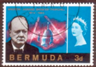 Bermuda Stamps 1966 Churchill Set